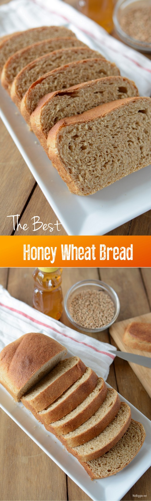 The best honey wheat bread | Recipe on NoBiggie.net