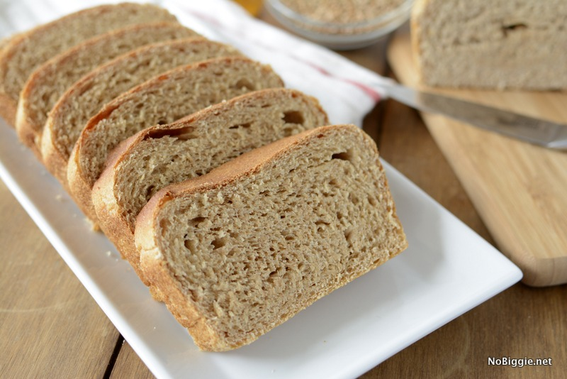 The best honey wheat bread recipe | NoBiggie.net
