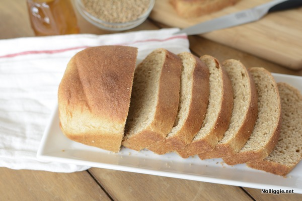 The best recipe for honey wheat bread | NoBiggie.net