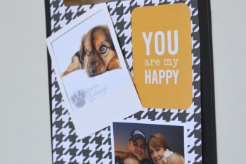 DIY Clipboard Photo Display