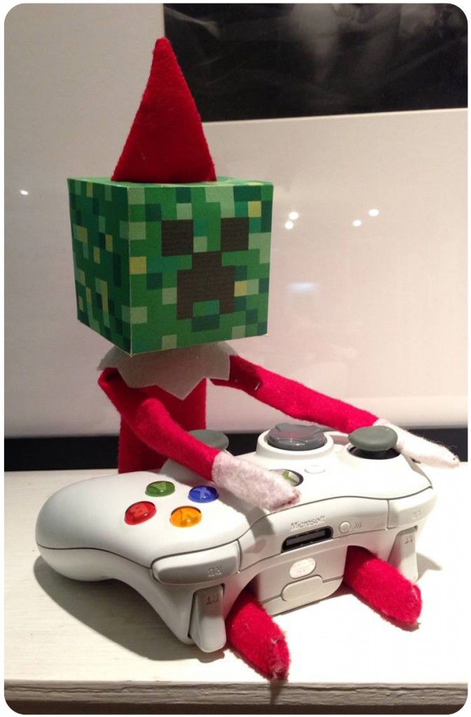 elf on the shelf mine craft style | 25+ elf on the shelf ideas
