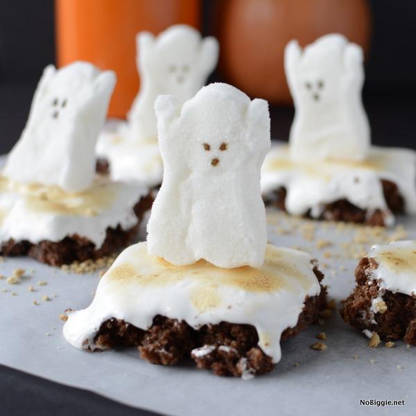 halloween peeps brownies | NoBiggie.net