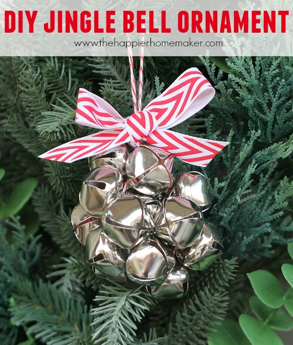 25 ornaments kids can make nobiggie for Jingle bell christmas ornament crafts