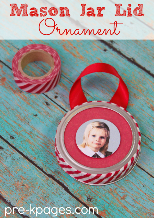 mason jar ornament | 25+ ornaments kids can make