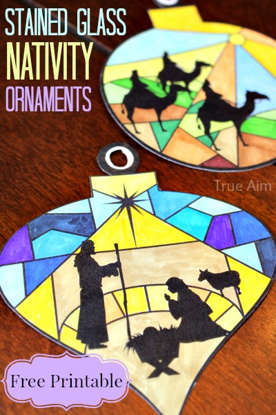 nativity ornaments | 25+ ornaments kids can make