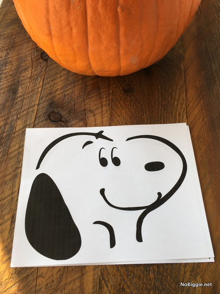 the peanuts movie plus pumpkin stencil nobiggie