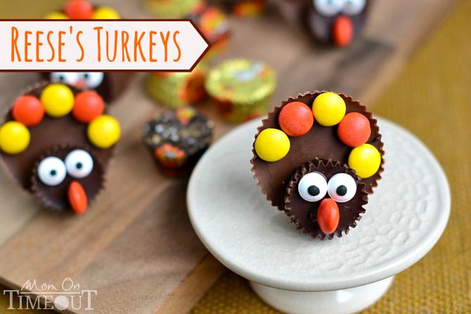 Reese's turkeys thanksgiving | 25+ Thanksgiving treats