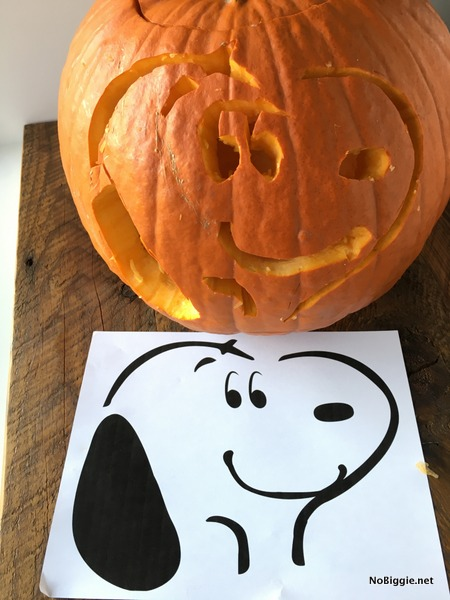 The peanuts movie plus pumpkin stencil nobiggie for Charlie brown pumpkin template