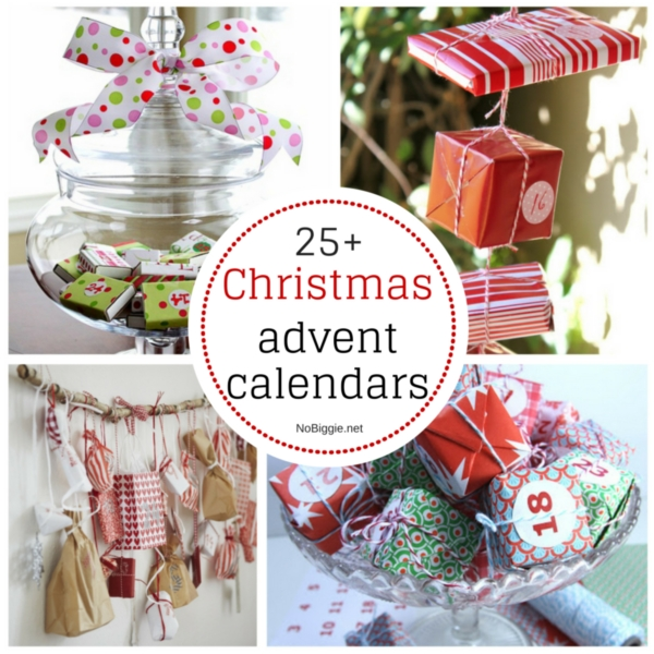 25+ Christmas advent calendars | NoBiggie.net