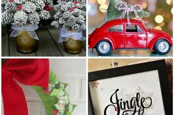 25+ easy DIY Christmas decor