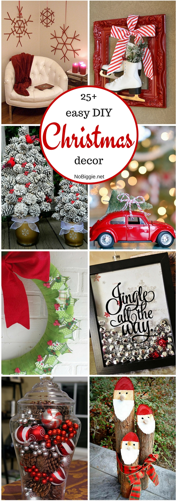 25+ easy DIY Christmas decor | NoBiggie.net