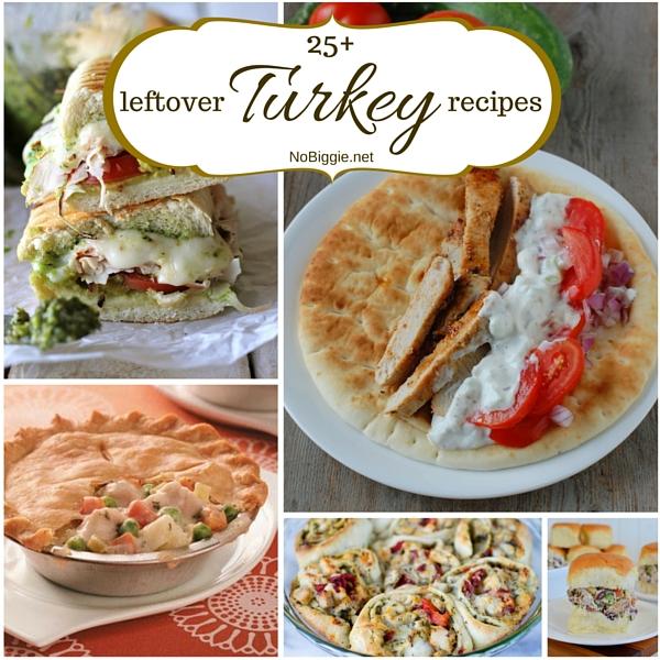 25+ leftover turkey recipes | NoBiggie.net