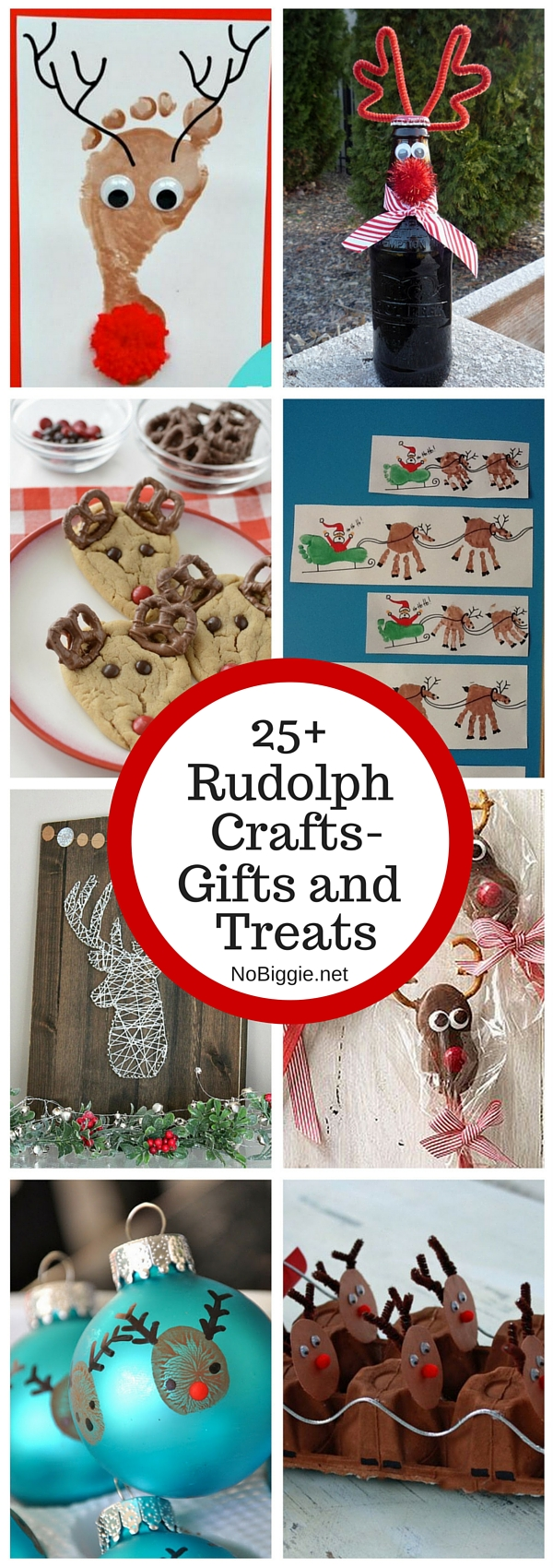25+ Reindeer and Rudolph crafts, gifts and treats | NoBiggie.net