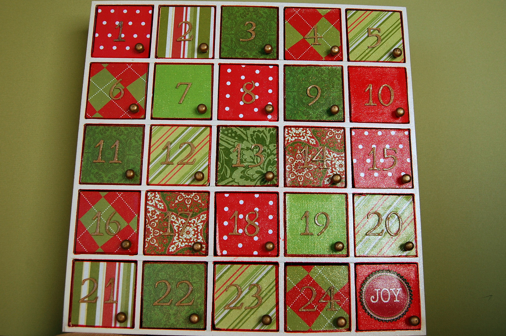 Advent Calendar Ideas For Girls : Christmas advent calendars