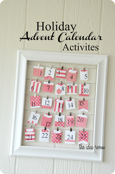 Holiday Advent Calendar | 25+ Christmas advent calendar ideas