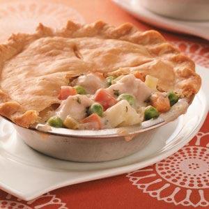 Make-ahead turkey potpie recipe | 25+ leftover turkey recipes