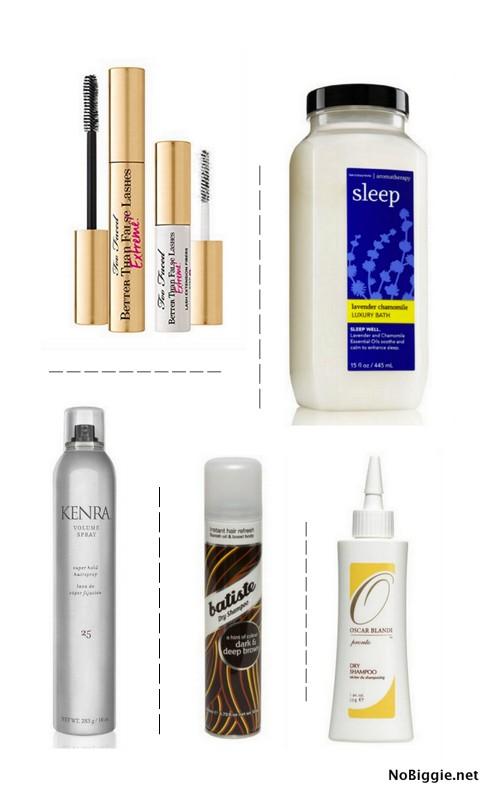 My Favorite Beauty items | NoBiggie.net