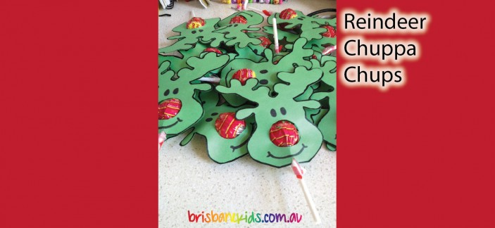 Reindeer Suckers | 25+ Rudolph crafts, gifts and treats | NoBiggie.net