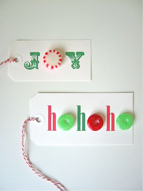 DIY Candy Cards | 30+ Christmas Wrapping Ideas