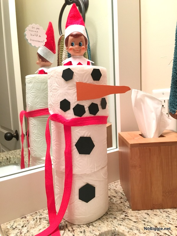 do you want to build a snowman? | 25+ Elf on the shelf ideas