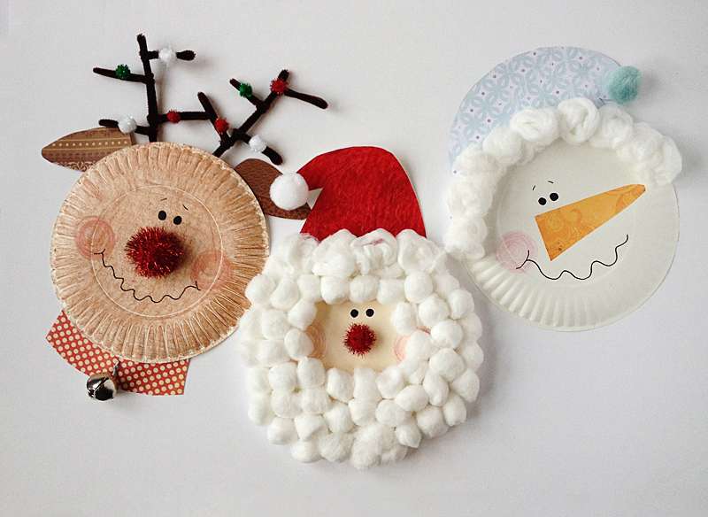 paper plate christmas characters | 25+ Rudolph crafts, gifts and treats | NoBiggie.net