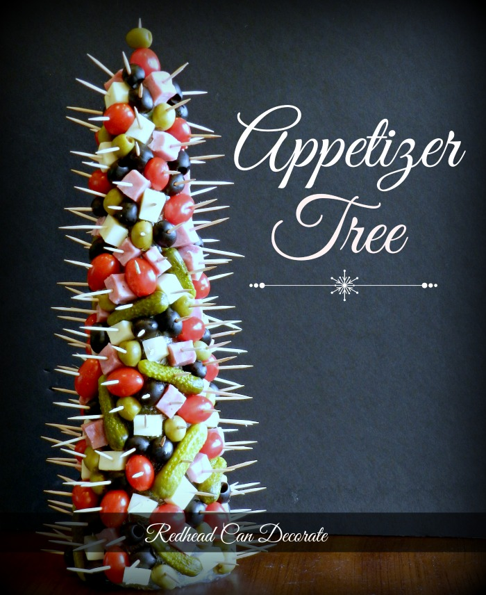 Appetizer Tree | 25+ Holiday Party Appetizers