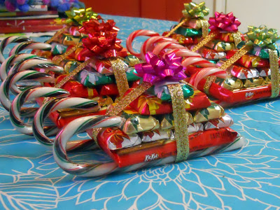 Candy Sleighs | 25+ Cute Christmas Treats