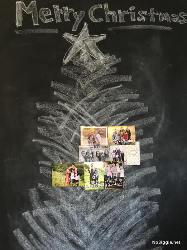 Christmas Card display idea | NoBiggie.net