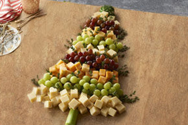 25 holiday party appetizers - Christmas tree shaped appetizers ...