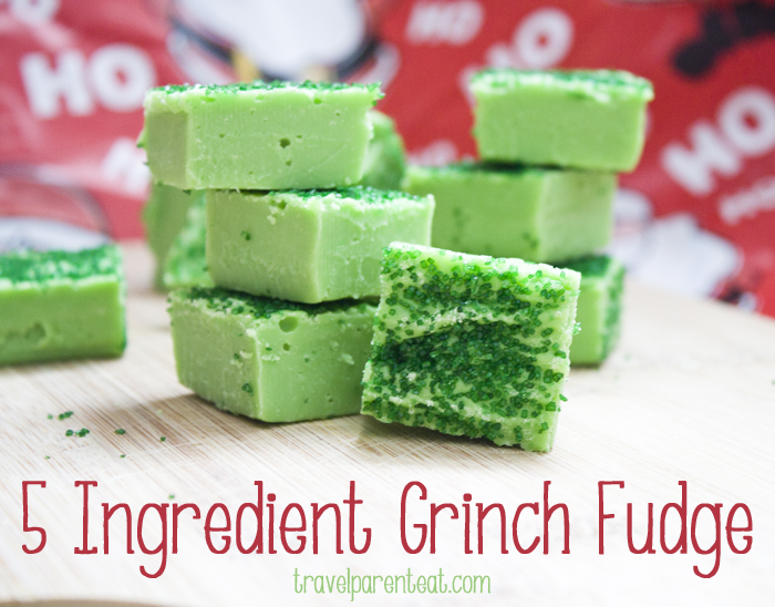 Grinch Fudge | 25+ Grinch crafts and cute treats