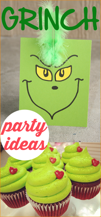 Grinch cupcakes | 25+ Grinch crafts and cute treats