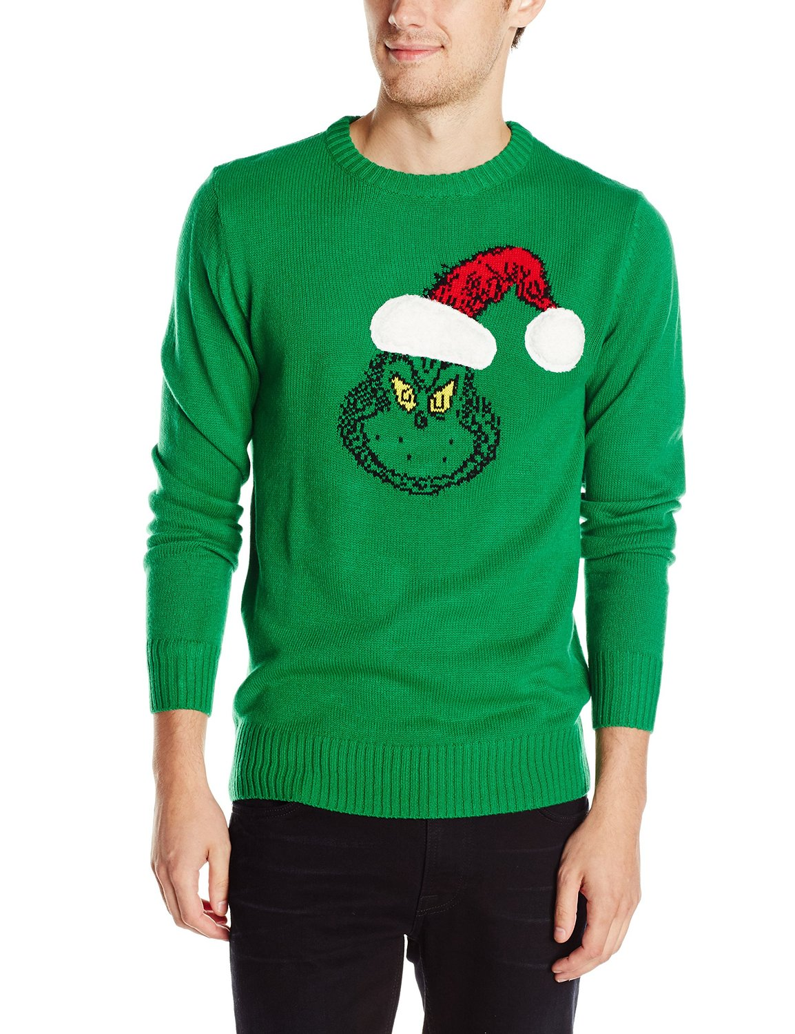 Grinch sweater | 25+ Grinch crafts and cute treats