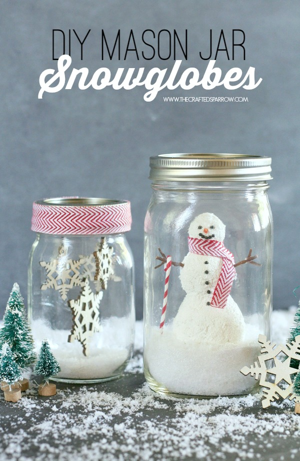 25+ Winter Decor Crafts - NoBiggie