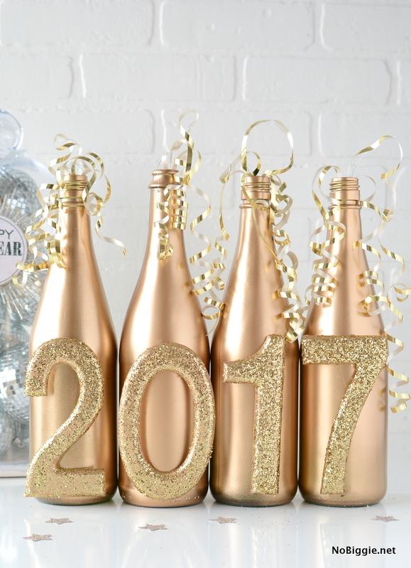 Easy New Years Eve Decor | NoBiggie.net