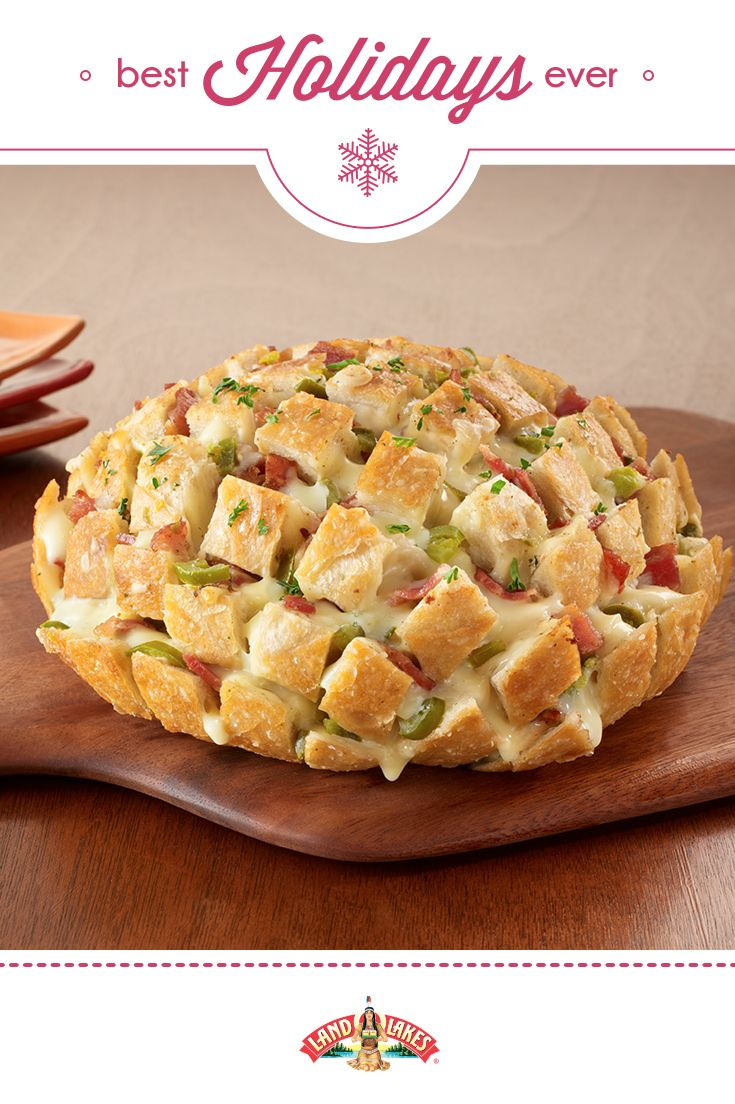 Pull-Apart Party Loaf | 25+ Holiday Party Appetizers