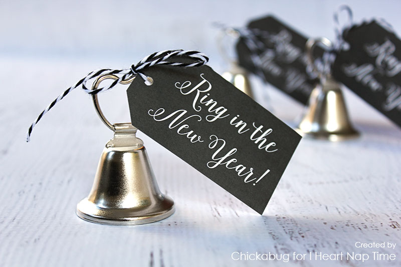 Ring in the New Year printables | 25+ NYE party ideas