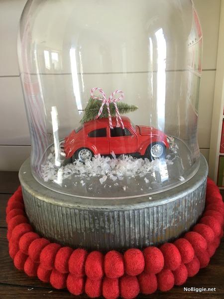VW bug toy as Christmas decor   NoBiggie.net