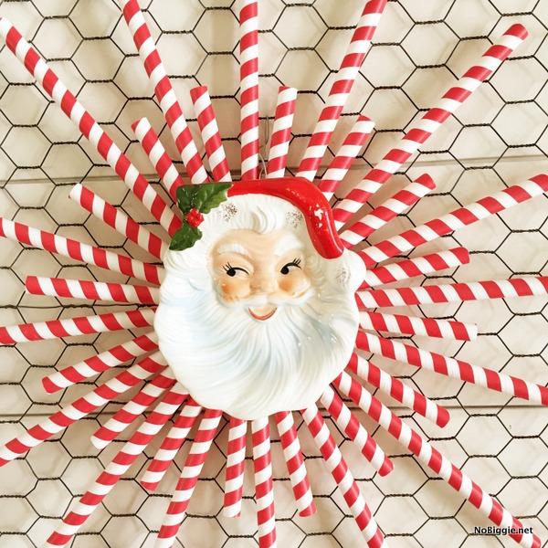 Vintage Santa Plate | NoBiggie.net
