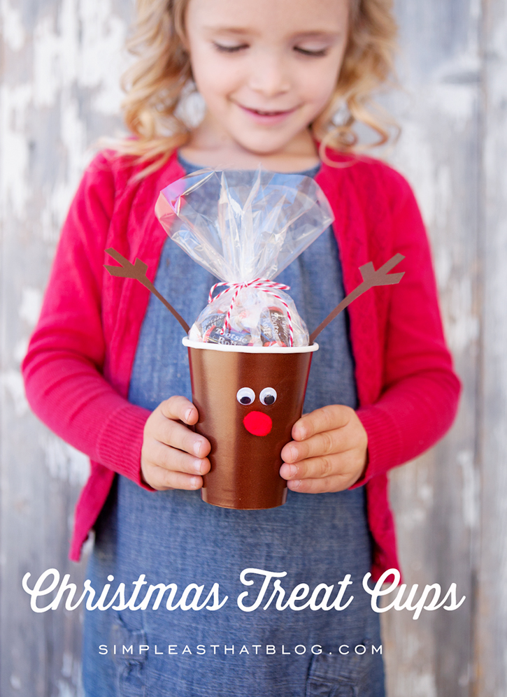 Christmas cups | 25+ Cute Christmas Treats