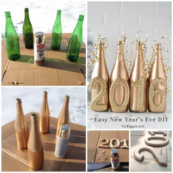 easy New Year's Eve DIY decoration | NoBiggie.net