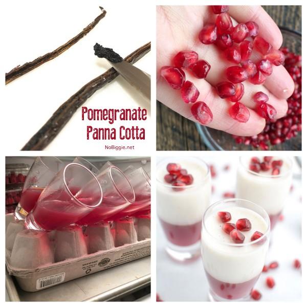 how to make Pomegranate Panna Cotta | NoBiggie.net