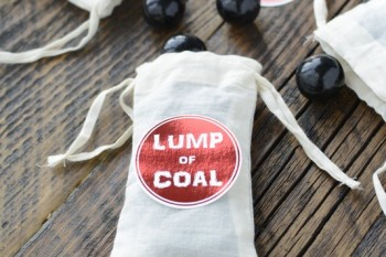 Lump of Coal printable tags