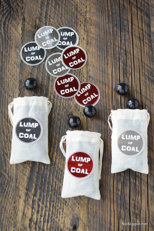lump of coal printable tag | NoBiggie.net