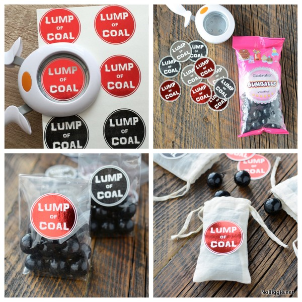lump of coal printable tags for Christmas | NoBiggie.net