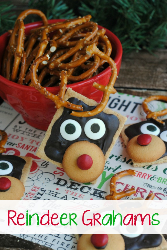 reindeer grahams | 25+ Cute Christmas Treats