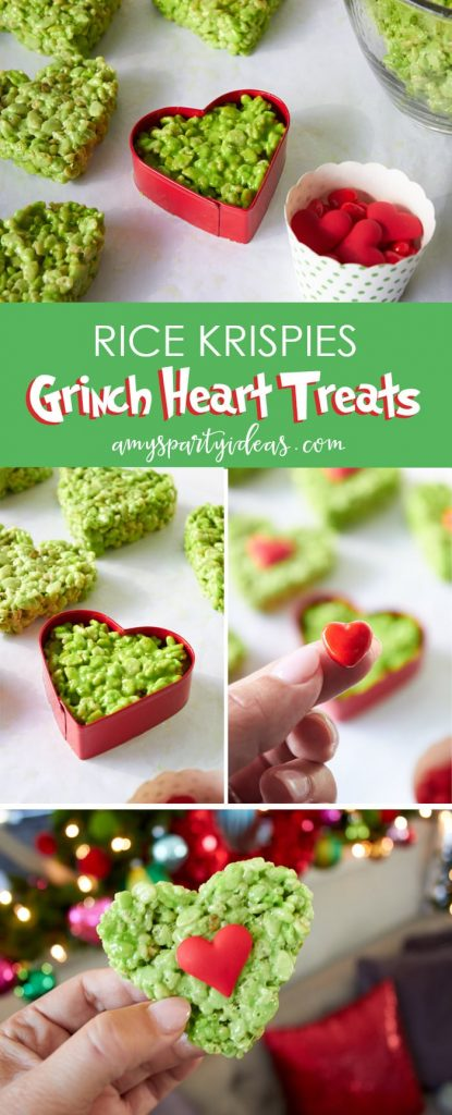 green GRINCH rice krispie treats