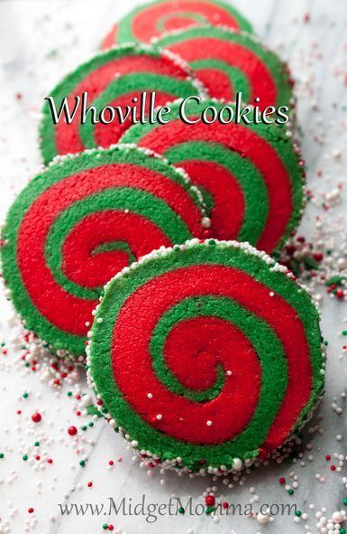 Whoville cookies 25+ Grinch crafts and cute treats | NoBiggie.net