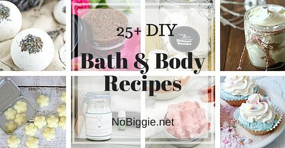 Spa Day At Home Diy Bath Recipes