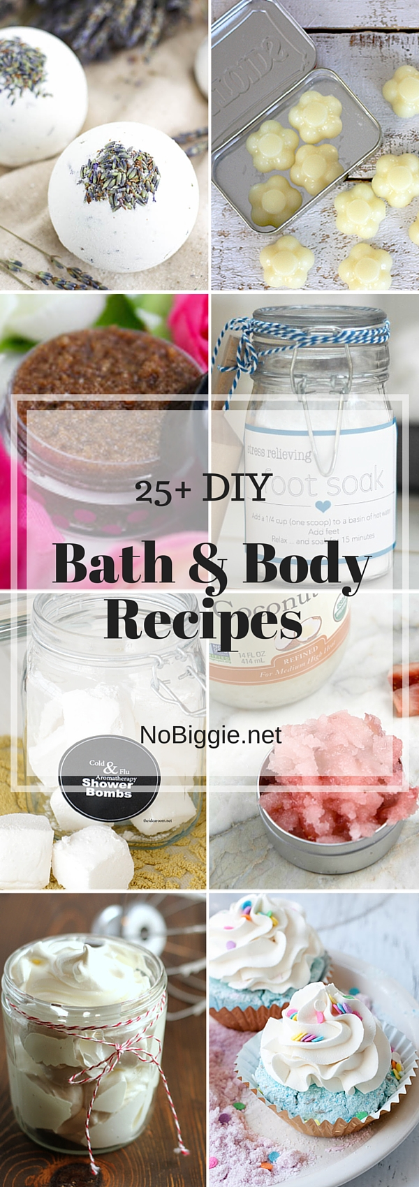 Bath & Body Recipes - great ways to pamper yourself or give the gift of pampering. #bathbody #bathandbody #diybathproducts #diybodyproducts