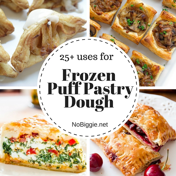 25+ Uses for Frozen Puff Pastry Dough | NoBiggie.net